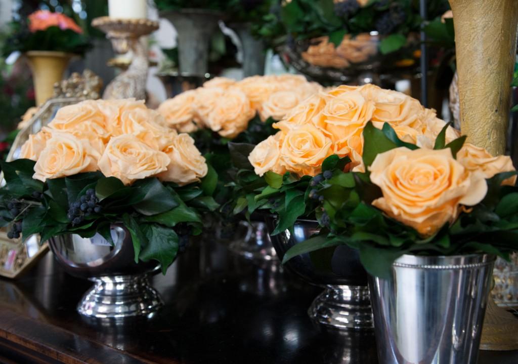 Compositions de fleurs stabilisées