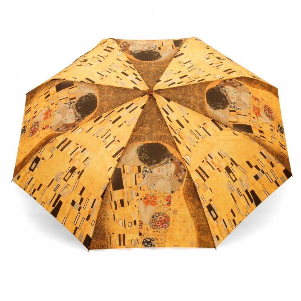 Parapluie pliant automatique peinture Gustav Klimt