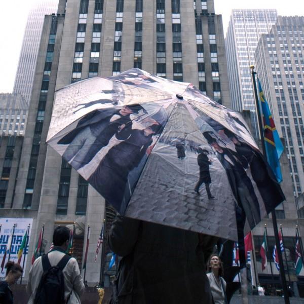 Parapluie Caillebotte vu à New York