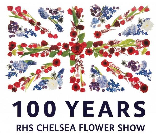 Affiche officiel pour les 100 ans ce la Chelsea Flower Show