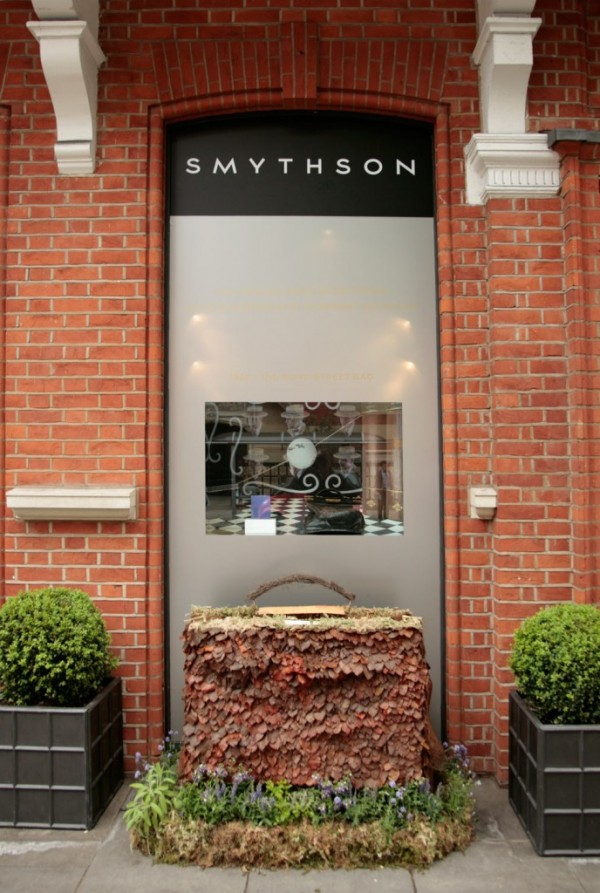 Decoration florale chez Smythson