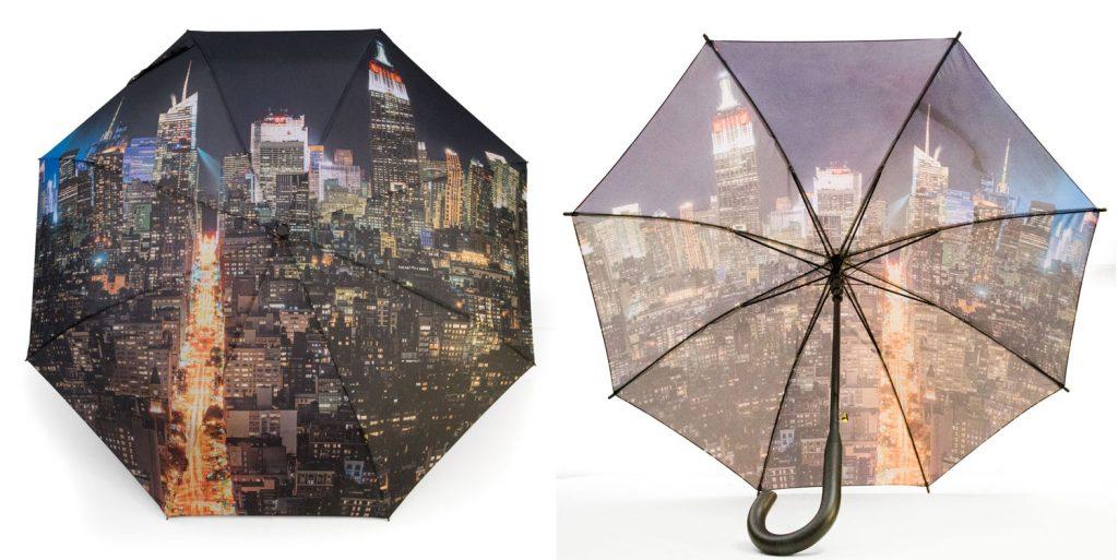 Parapluie à motif New York Manhattan